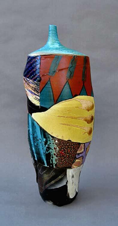 CEramic vessel Desert-Art-1-Patrick-Crabb