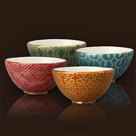 L'OBJET-Fortuny-4 CERAMIC Cereal-Bowls