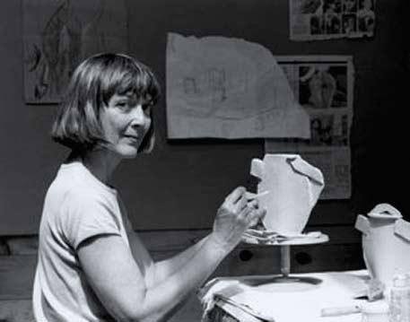 Mardi-Wood-in-studio making a teapot