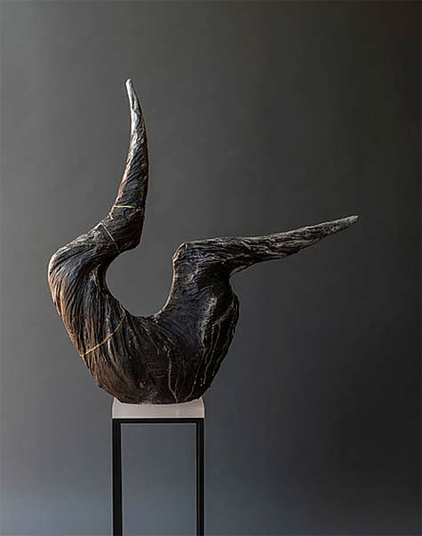 Meridian-Series-Beverly-Morrison--abstract ceramic sculpture