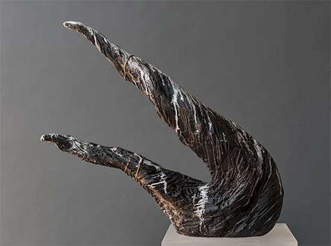 Meridian-Series-abstract sculpture -- Beverly-Morrison