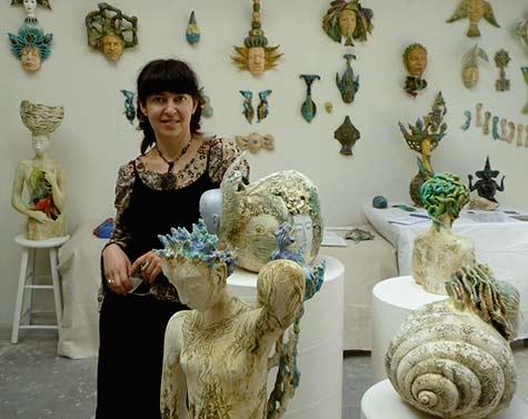 Natasha Dikareva in gallery