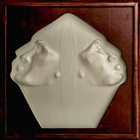 Walll relief sculpture Susan Bloch