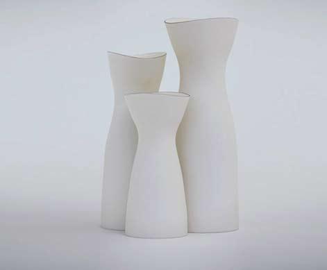 Ryota-Aoki - three white pitchers