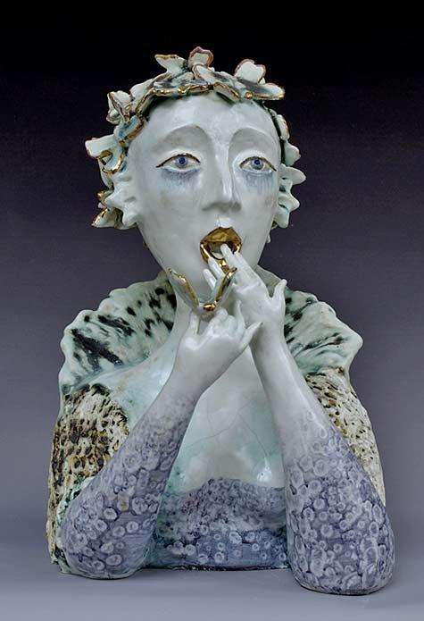 Natasha Dikarevaporcelain sculpture - Alice