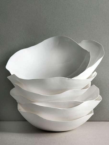 White-Serax-stacked bowls