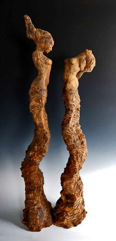 The-Bernini-Sisters---Ceramic---Sculpture---Figurative---Beverly-Morrison