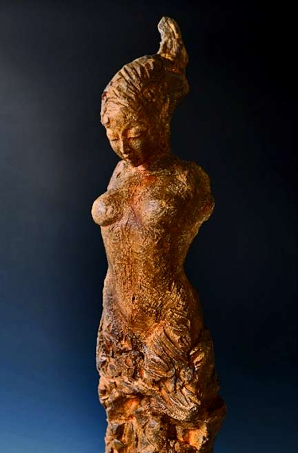 The-Bernini-Sisters---Ceramic---Sculpture by Beverly Norrison