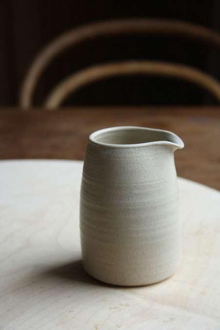 White-ceramic-jug-Dove-Stree-Pottery