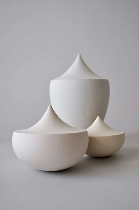 YuliaTsukerman-Vanitas-Collection - white ceramic vessel set