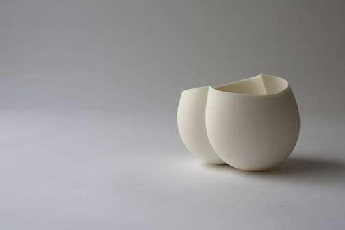 Ryota Aoki Pottery porcelain vessel