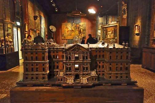 Model of Villa Pisani in Stra