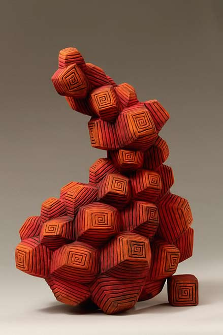 Ceramic sculpture growth II_iifire-Hsun-Yuan-Hsu