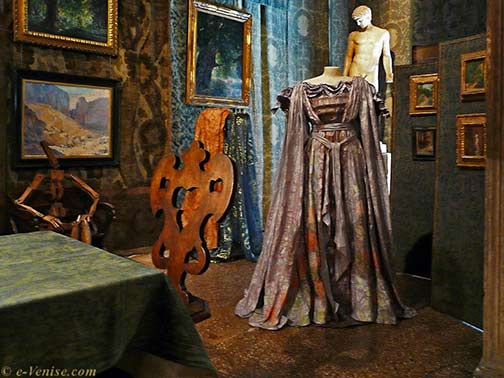 Fortuny designed theatre costume