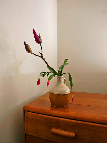 Spring bloom ikebana
