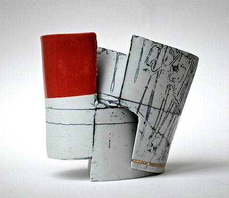 Lucy-Morrow-geometrical ceramic-sculpture