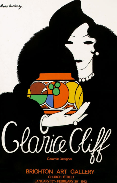 Clarice-Cliff - Brighton-Art-Gallery - 1972