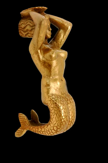 Cast-Bronze-Mermaid-Door-Pull by Vadim Androusov