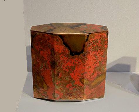 Koji-Hatakeyama---Ippodo-Gallery-Eight-Faces - hexagonal vessel