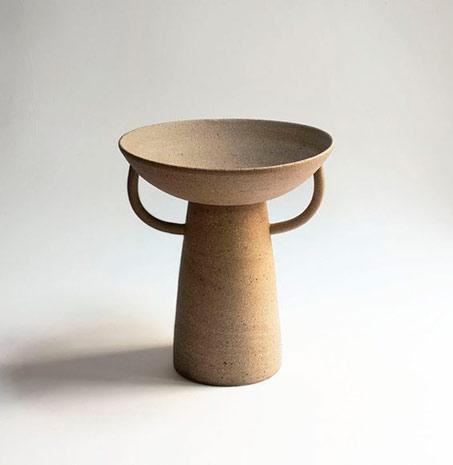 Classical pottery-Obelisk-Pedestal-vase---Nicolette-Johnson
