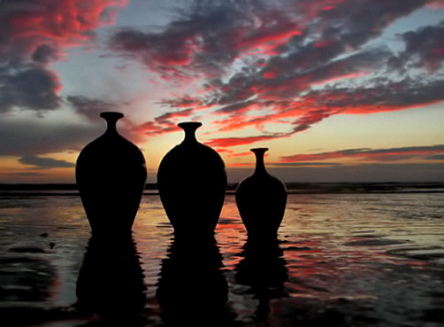 Russell-Akerman-morecambe-summer-sunset
