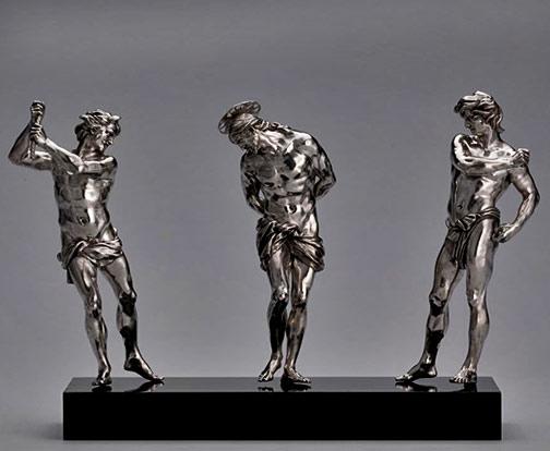 Alessandro-ALGARDI---Flageellation-group-figure sculptures