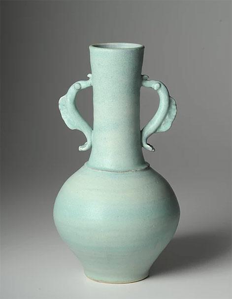 Alice-Federico9--No-!022 turquoise green vase