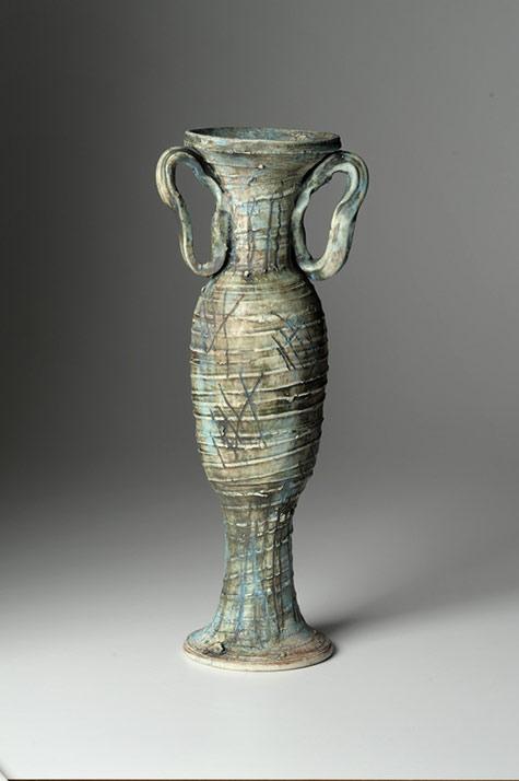 Vase with long flared base - Alice Federico