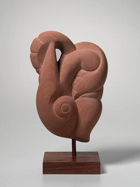 'Flower dancer' - Inge King abstract biomorphic sculpture