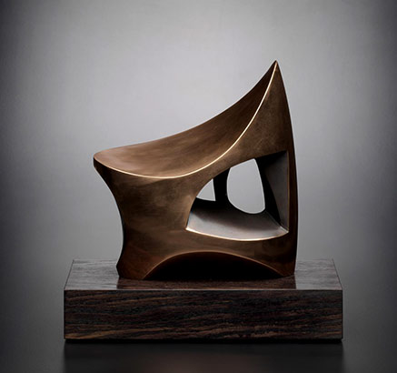 Joseph-BROWN---The Cave--1970 abstract contemporary sculpture
