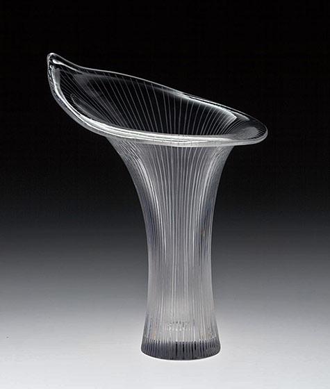 Tapio Wirkkala's Kantarelli,-vase-(Chanterelle),-1946-(designed)-NGV