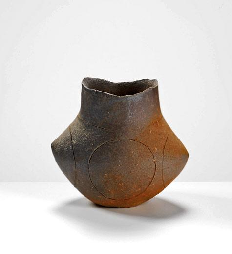 Yasuhisa Kohyama-Anagama-fired-stoneware