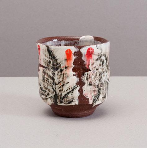 Adam Posnak ceramic cup---The Clay Studio