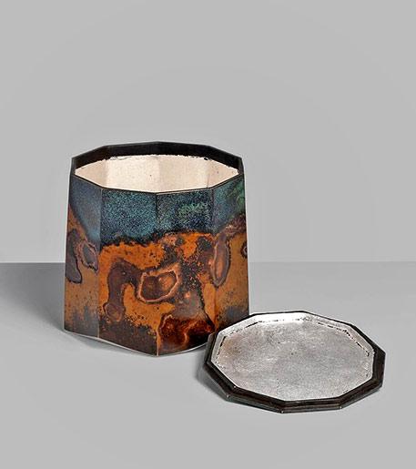 Koji Hatakeyama Ten Faces, 2017 bronze lidded box