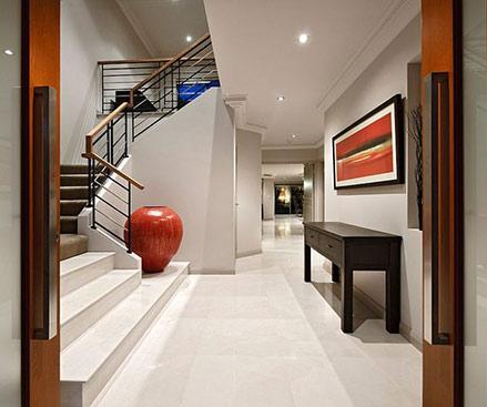Large Floor-Vase on stairwell