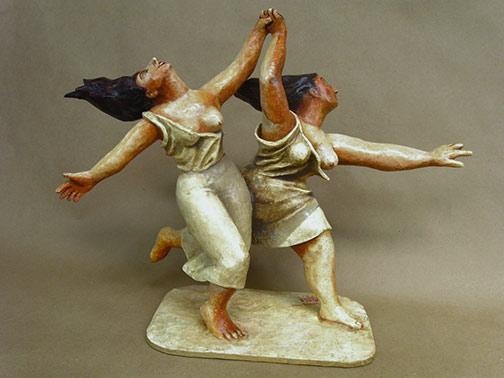 Picasso figures---Mauricio-Perez paper mache