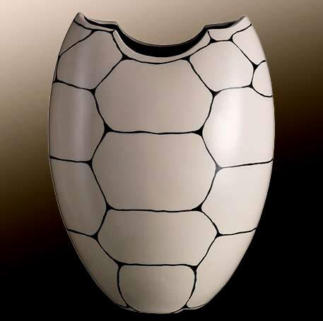 Rometti_2017 vaso tartaruga bianco( White Turtle Vase)Presenza sciamana -- Shaman Presence)Jean Christoph Clair