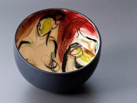 Jngrid_Saag-ceramic-bowl Seated Nude