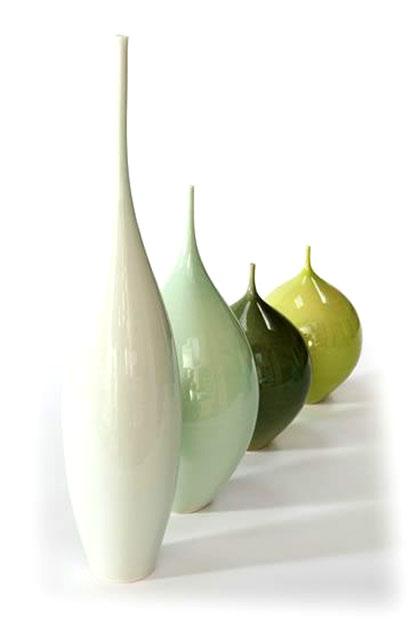 Sophie Cook porcelain bottles